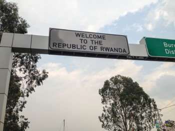 Welcome to the republic of Rwanda
