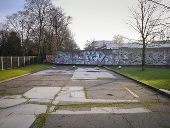 Bergstraße, the last street still cut off by the Berlin wall