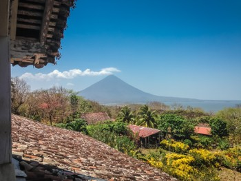 Volcan Concepcion from Finca Magdelena