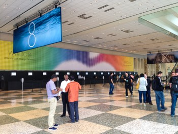 WWDC. This is how far I got before security asked me for my pass