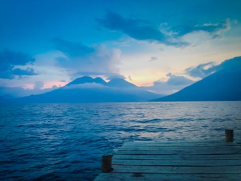Final Lake Atitlan sunset