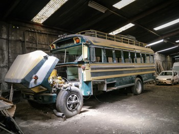 Chicken bus workshop