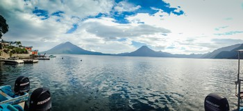Lake Atitlan, from Santa Cruz