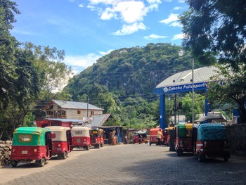 Got enough tuk-tuks for a village with barely any roads?