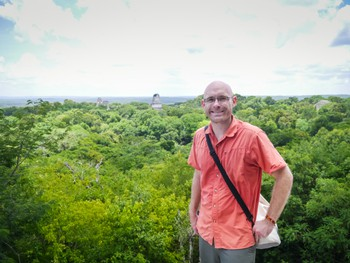 Me at the top of Temple IV