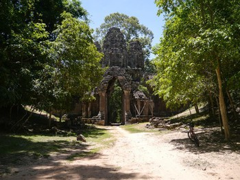Angkor Thom's east gate